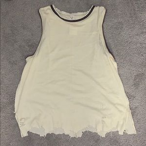 Free People Vintage Ringer Muscle Tank